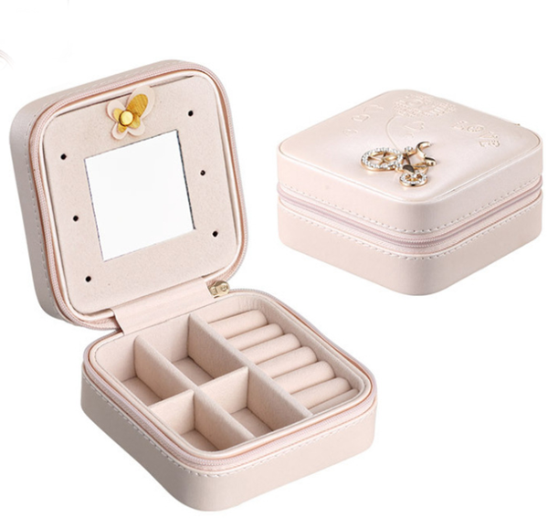 Travel jewelry box, Portable Travel Jewelry Case
