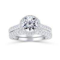 The Rose- Classic Luxury Diamond Princess Ring