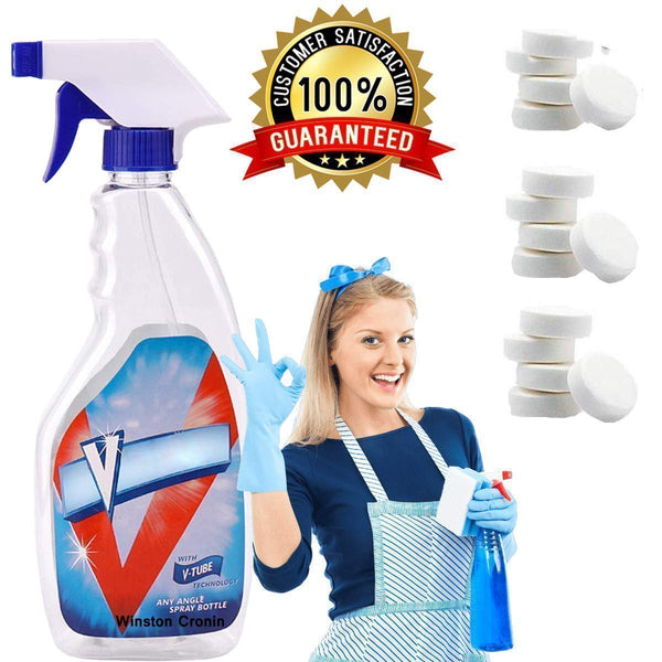 All Purpose Effervescent Spray Cleaner Set