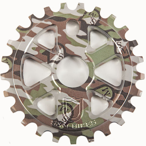 S&M X-MAN CAMO SPROCKET