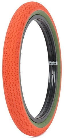 SUBROSA SAWTOOTH ORANGE TIRE
