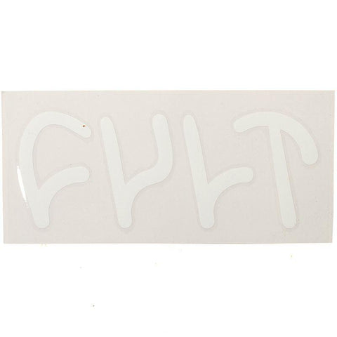 CULT DIE-CUT WHITE DECAL