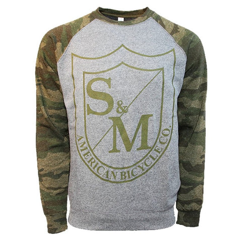 S&M BIG SHIELD SWEATSHIRT