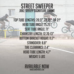 SUNDAY STREET SWEEPER 2019 FRAME