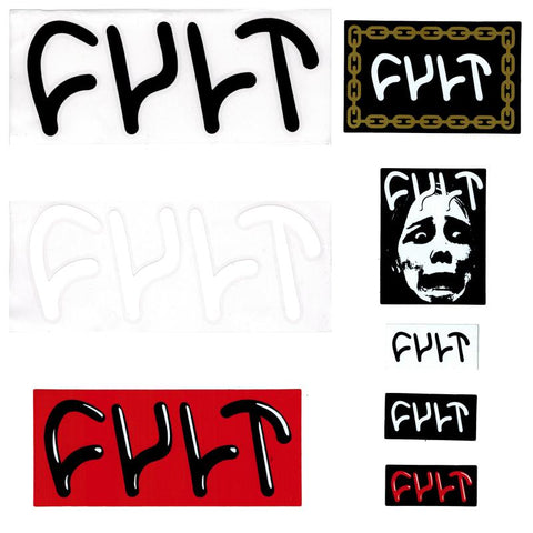 CULT STICKERS SET