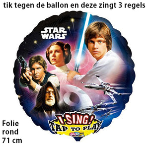 Tv/film zingende ballon
