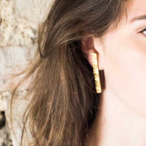 Boucles d'oreille schiste - bresma_accessories