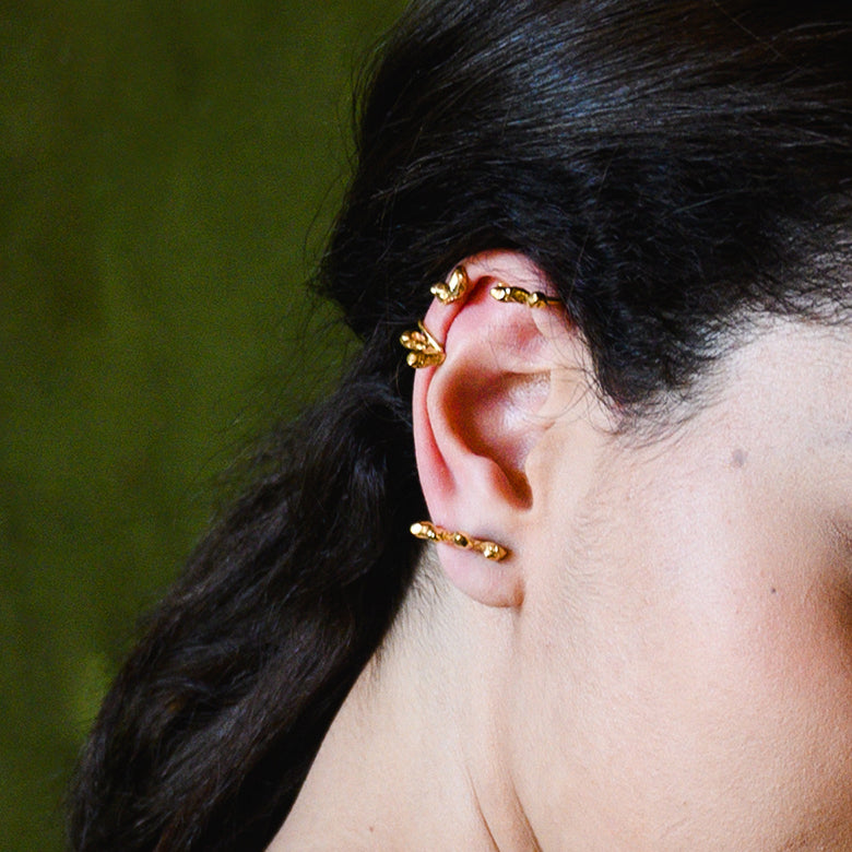 Double earcuff Zephir - bresma_accessories