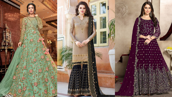 Top 7 wedding salwar kameez trends for women