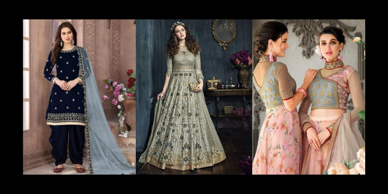 Find Salwar Suits that best fit your figure and your Body Type