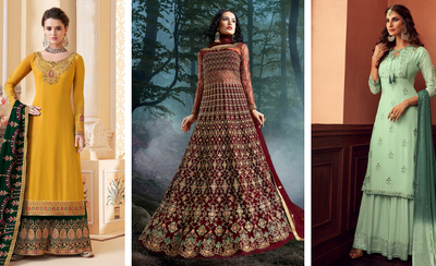 Top 10 designs of salwar suits for  women in 2020