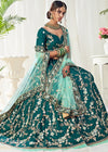 Indian Lehanga - Green Designer Lehenga Choli