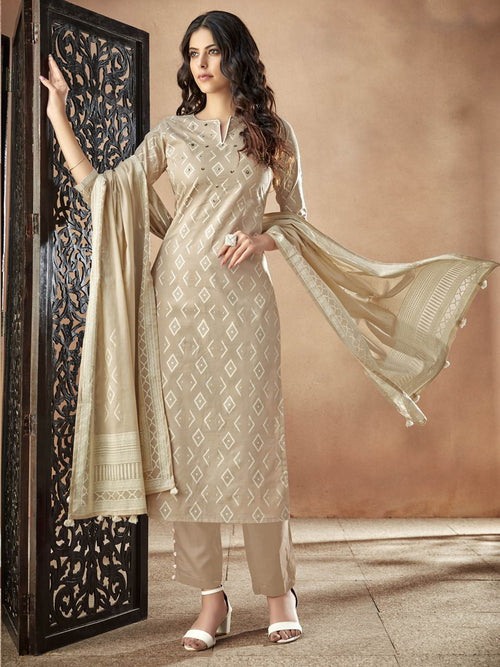 Golden Casual Pakistani Pant Suit