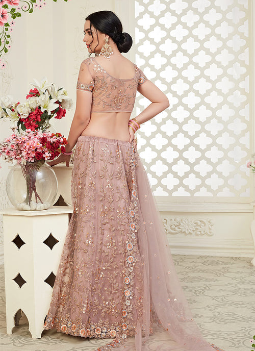 Mauve Lehenga Choli In usa uk canada