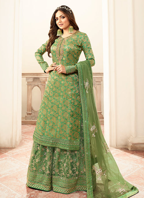 Green And Golden Sharara