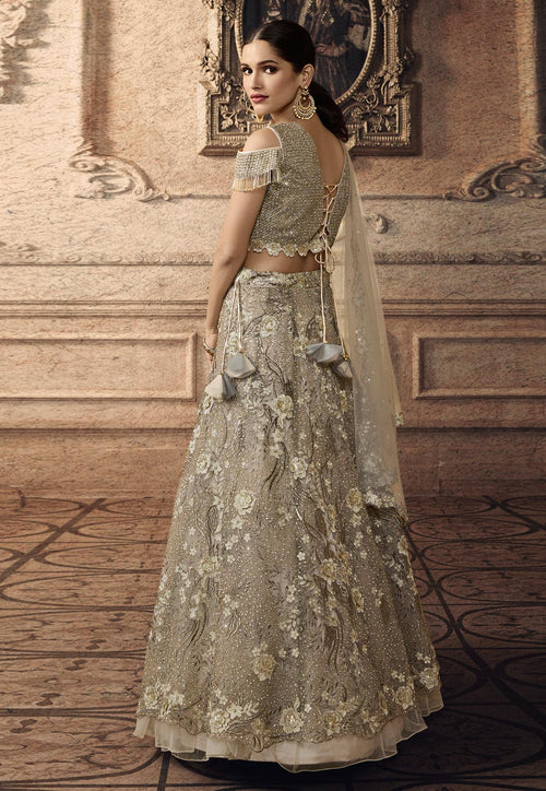 Floral Wedding Lehenga Set
