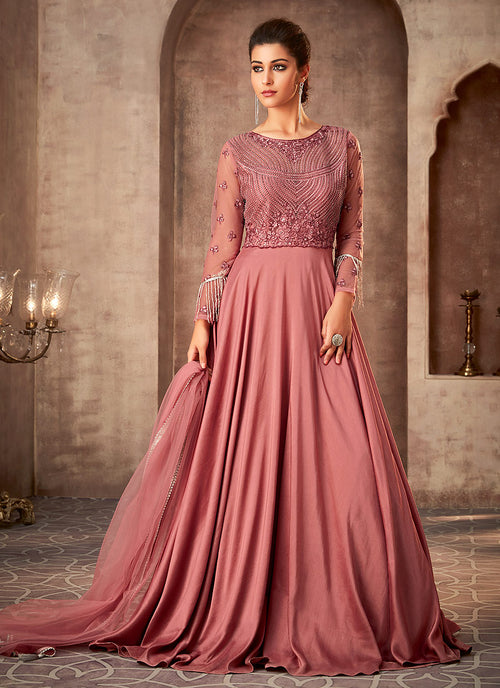 Party Wear Anarkali Gown