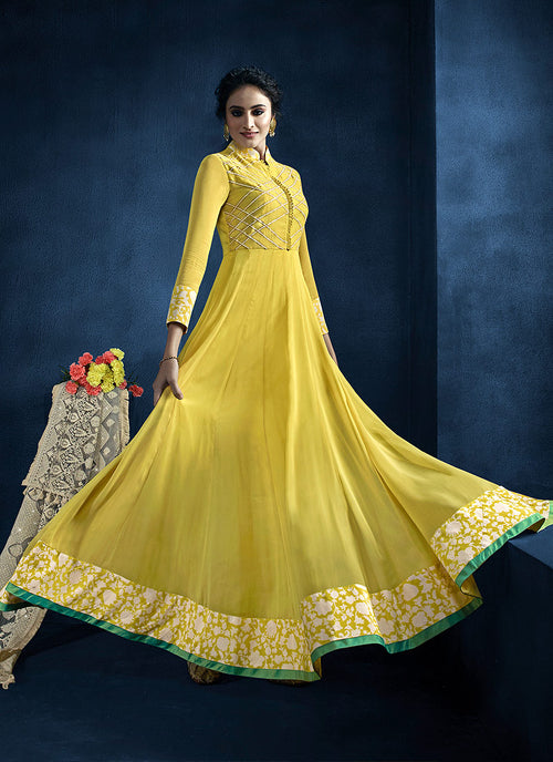 Lucknowi Anarkali Suit