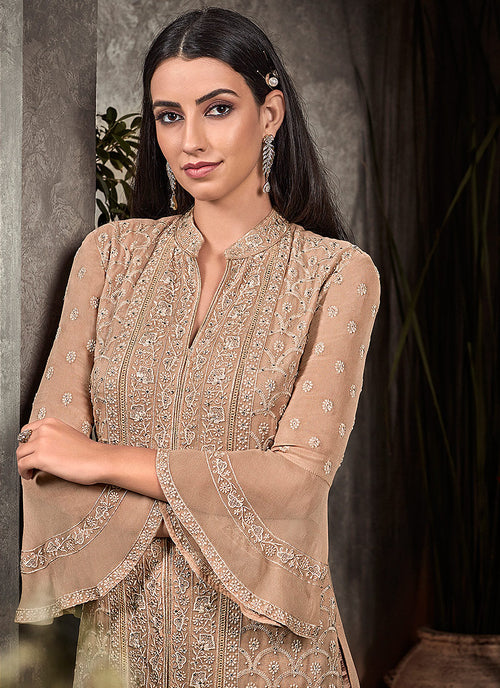 Embroidered Pakistani Pant Suit