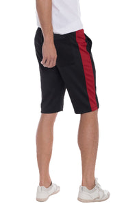 Workout Shorts Red Stripe