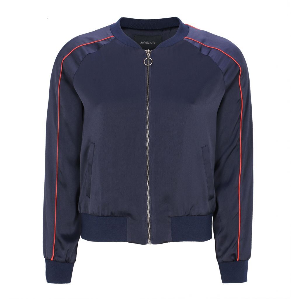 Soft Rebels Linda Bike Jacket, Night Sky