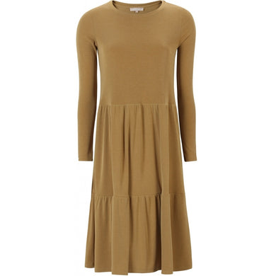 Soft Rebels Dany Dress, Ochre