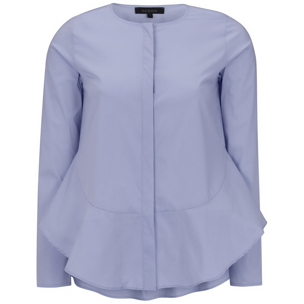 Soft Rebels Aimee Shirt, Cashmere Blue