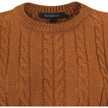 Load image into Gallery viewer, Soft Rebels Calby O-Neck Knit, Caramel Cafe