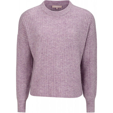 Soft Rebels Sabine T-Shirt Knit, Pastel Lavender