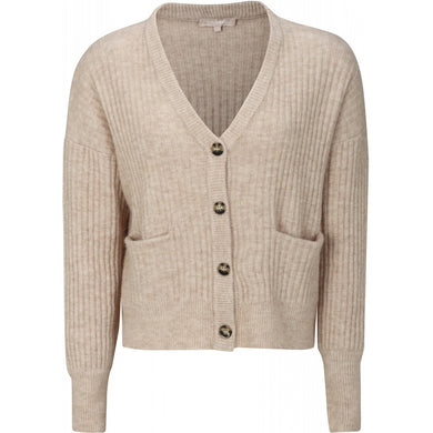 Soft Rebels Sabine Cardigan Knit, Birch