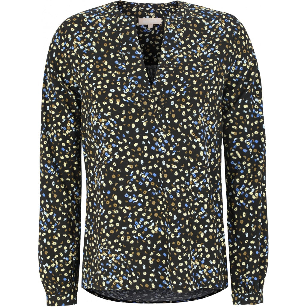 Soft Rebels Flora Top, Flora Multi Print