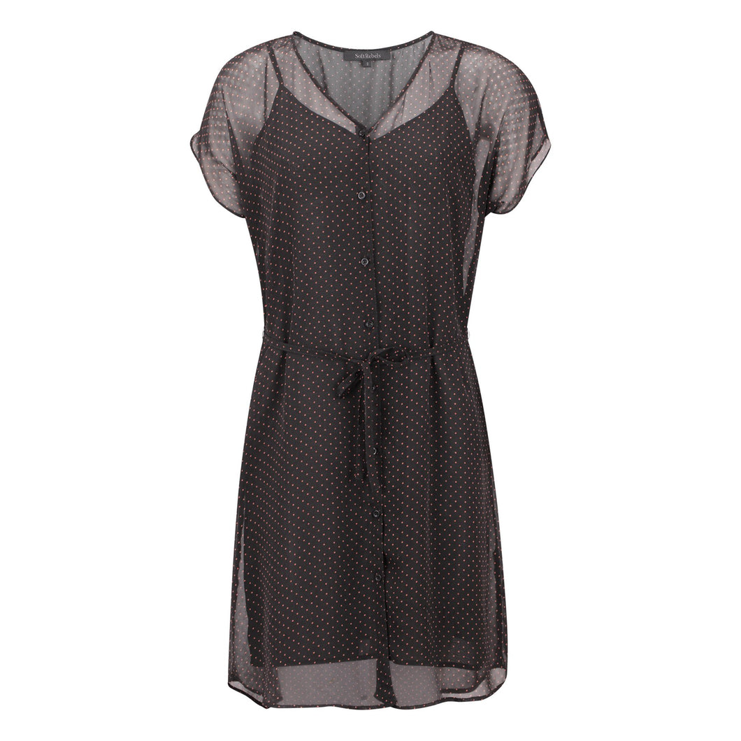 Soft Rebels Diana SS Dress, Black