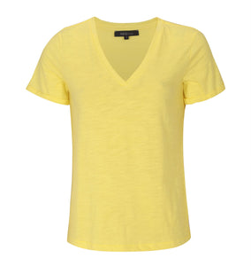 Soft Rebels Lily V-Neck, Lemon Verbena