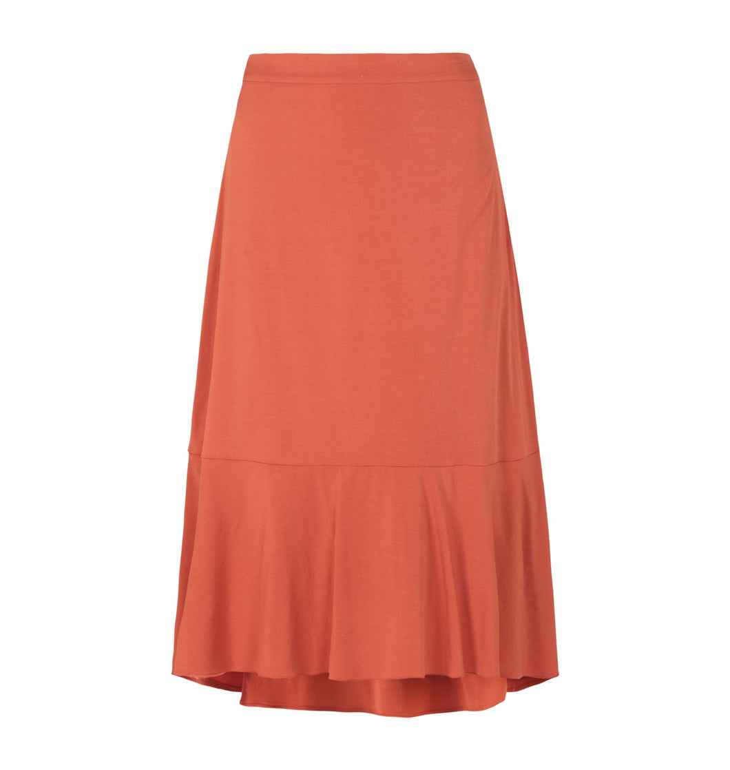 Soft Rebels Lined Ease Midi Skirt, 2 variants
