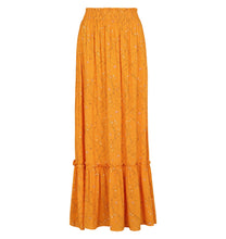 Load image into Gallery viewer, Soft Rebels Stilks Maxi Skirt, Orange