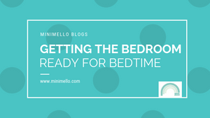 Getting the bedroom ready for bedtime