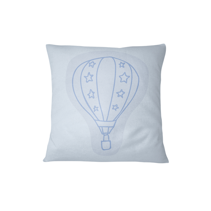 Throw cushion - Balloons | Blue