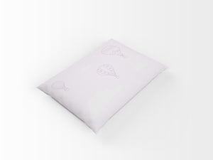 Organic cotton pillowcase - GOTS-certified - Balloons | Purple-pillowcase-Minimello