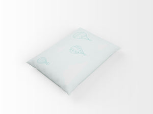Organic cotton pillowcase - GOTS-certified - Balloons | Mint-pillowcase-Minimello