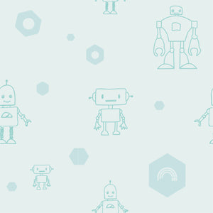 Throw cushion - Robots | Mint-Minimello