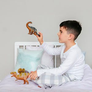 Organic cotton bedding set - Dinos | Mint-Minimello