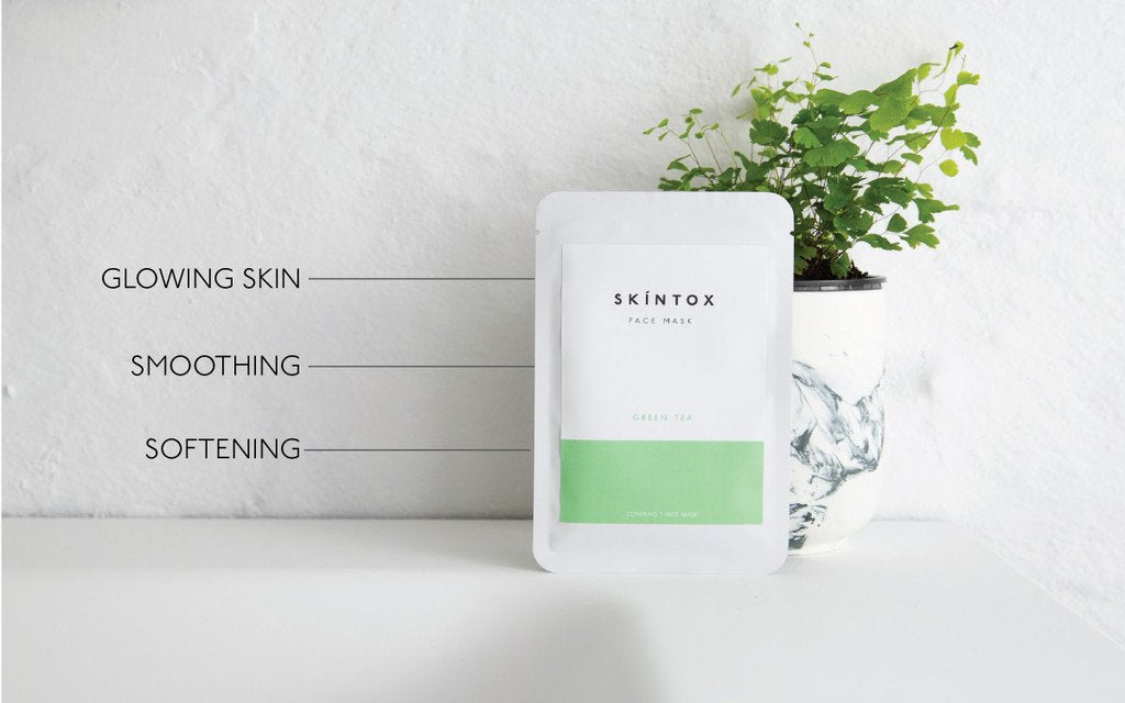 Skintox Green Tea Sheet Mask