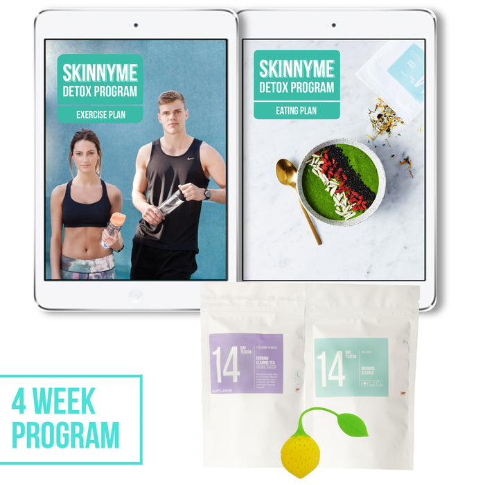 SkinnyMe Detox Program - 4 Weeks - SkinnyMe Tea