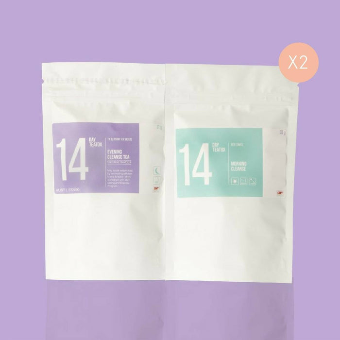 SkinnyMe Teatox Together - 2 x 14 Day Packs