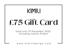 Load image into Gallery viewer, KIMILI Design Gift Card
