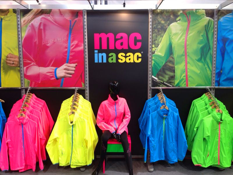 Mac in a Sac Neon Packaway Jacket - Colour range