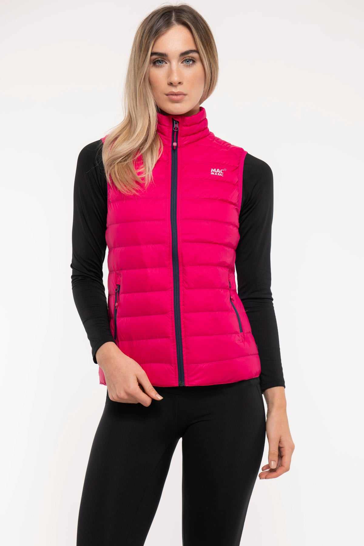 Alpine - Women's Packable Down Gilet - Pink