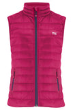 Alpine Womens Down Gilet - Fuchsia