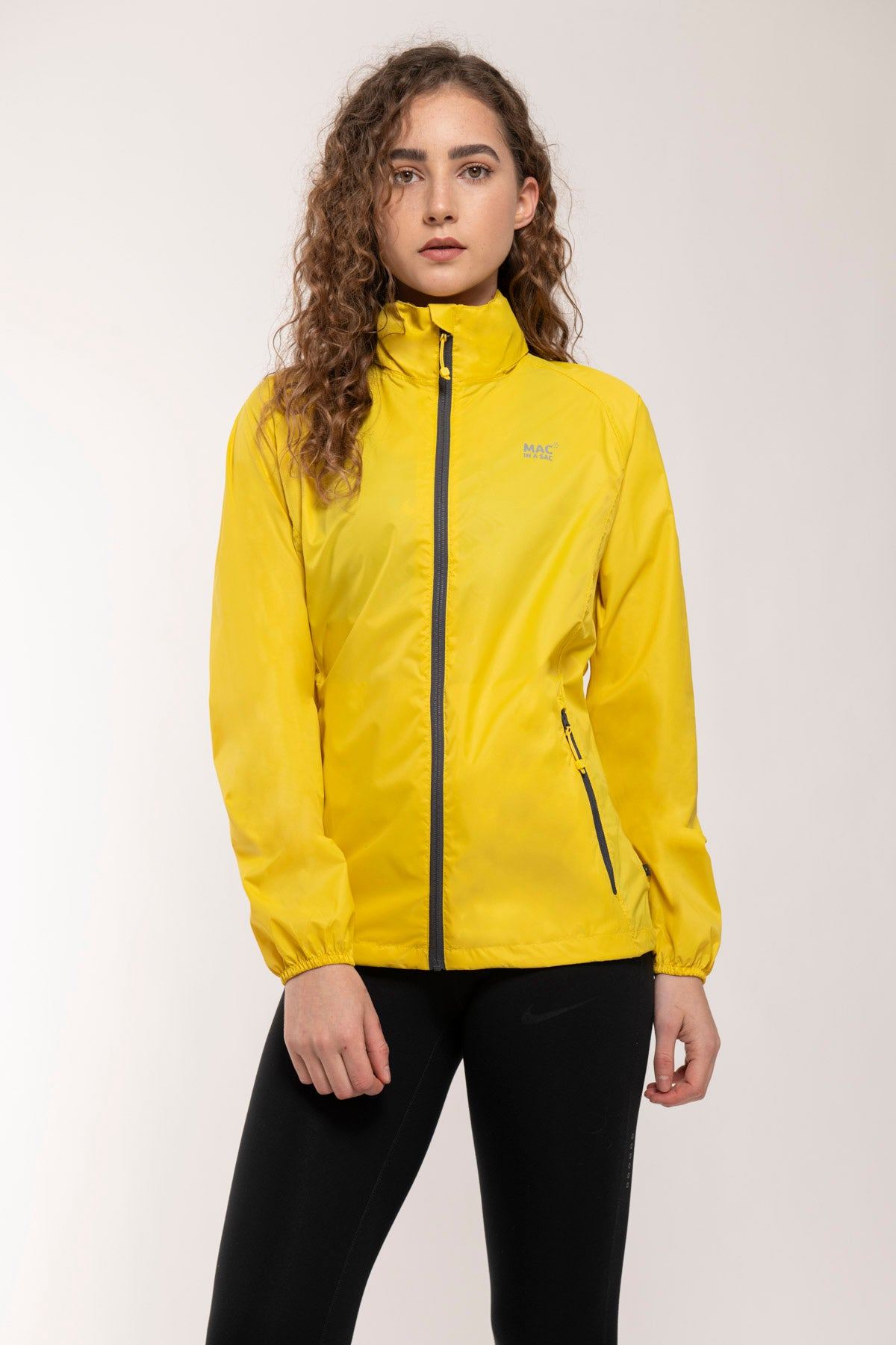 Origin Packable Waterproof Jacket - Yellow