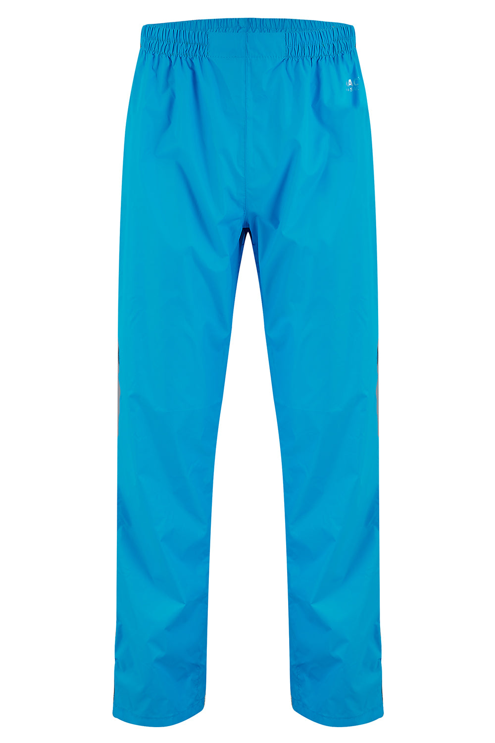 Overtrousers Packable Full Zip Waterproof Overtrousers - Neon Blue